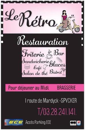Bourbourg, Francia: Le Rétro Friterie