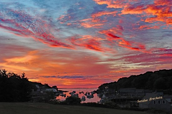 New Harbor Sunrise - Can be seen from all the buildings at the Moorings