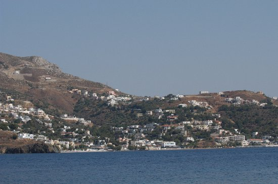 Kalymnos - View of Myrties from Telendos