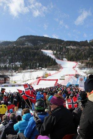 Ringebu Municipality, Norge: Kvitfjell alpinanlegg ligger i Ringebu - 20 min å kjøre til bakken