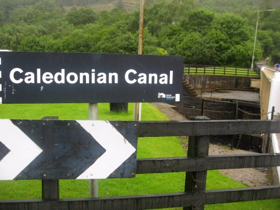 Caledonian Canal Visitor Centre: Caledonian Canal
