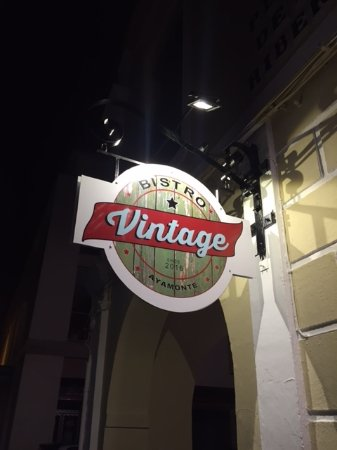 Ayamonte, Espagne : bistro vintage