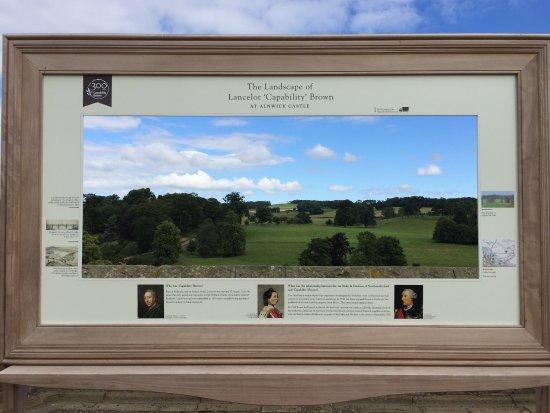 Alnwick, UK : Образец ландшафтного дизайна Капабилити Брауна