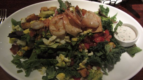The Woodlands, TX: Shrimp Salad