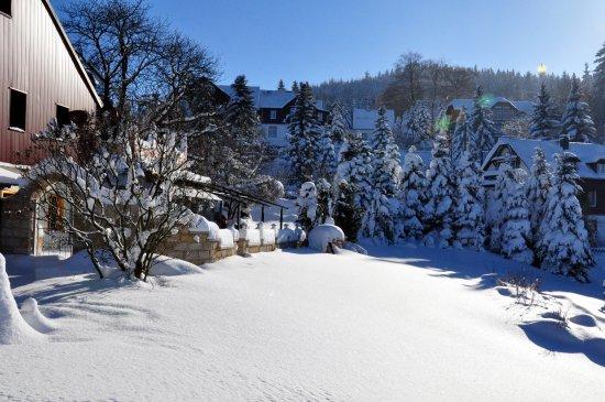 Garten Im Winter garten im winter picture of naturhotel gasthof baerenfels