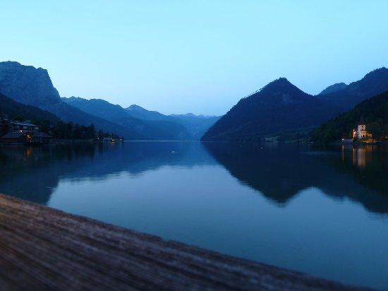 Grundlsee, Austria: Abendstimmung am Fischkalter