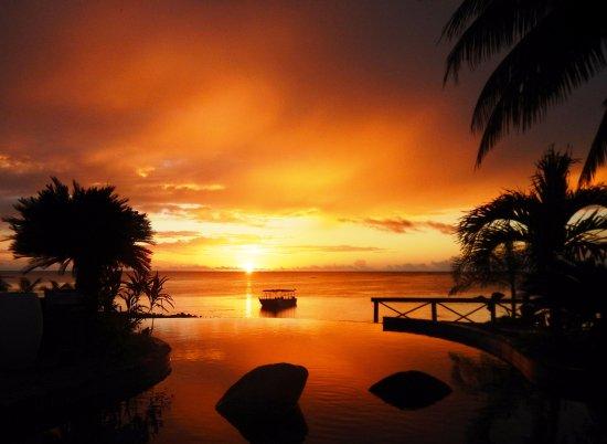 Fagamalo, Самоа: Le Lagoto sunset