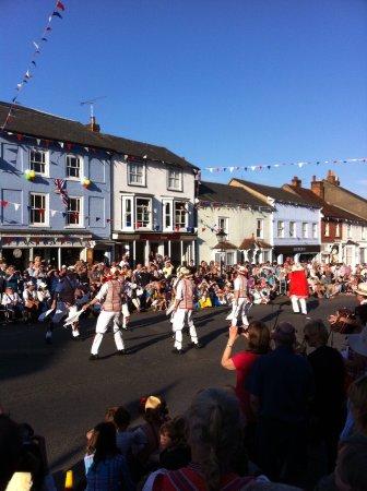 Thaxted, UK: Morris weekend