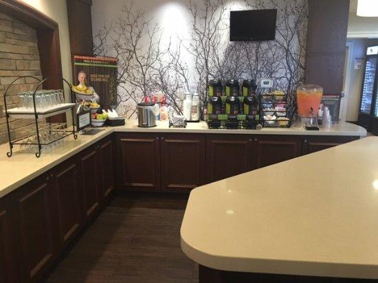 Chandler, AZ: Breakfast area