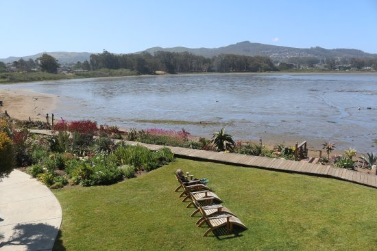 Baywood Park, Kalifornien: View from one of the upstairs Main Building bedrooms