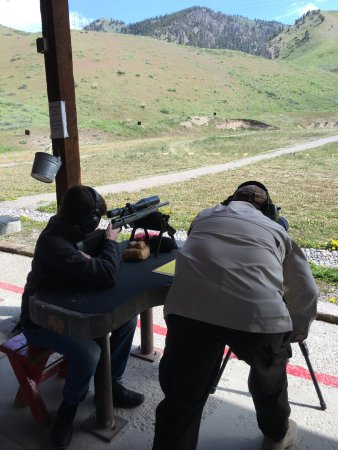 Jackson Hole, WY : shooting range