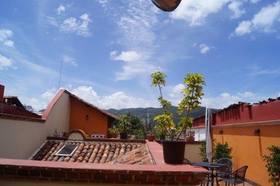 Hotel Posada El Zaguan: Terraza