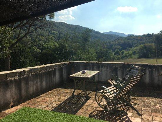 Santa Pau, Espagne : terraza