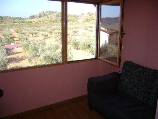 Elche de la Sierra, Espagne : Vista desde el mirador de la habitación