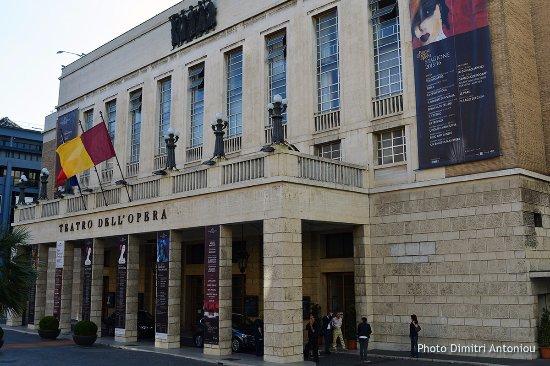 Teatro dell'Opera di Roma: Il Teatro Costanzi
