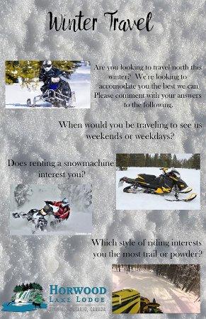 Timmins, Canadá: snowmobile brochure