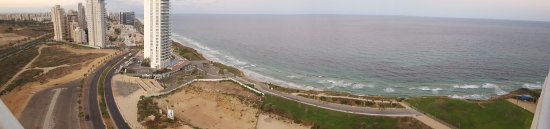 Ramada Hotel and Suites Netanya: Panorama from 16th floor