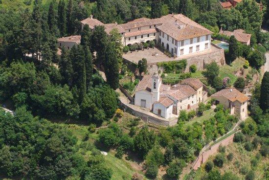 Palaia, Italië: foto aerea della casa di charme La Canonica