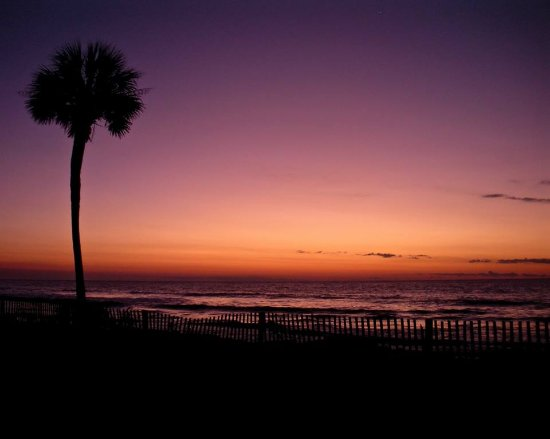 Hunting Island State Park Campground : All In Clemson Sunrise.