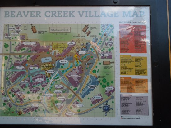 Beaver Creek, CO : A handy map