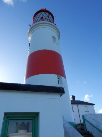 Souter Lighthouse and The Leas: The Lighthouse from its base.