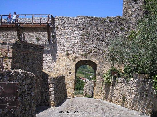 Monteriggioni, Ιταλία: particolari
