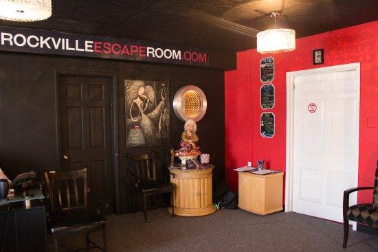 Rockville Escape Room Lobby