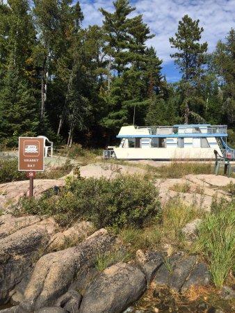 Crane Lake, MN: Grassy Bay site