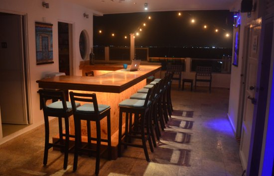 Casa Sirena Hotel : Azotea Bar for evening happy hour