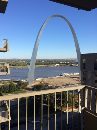 St Louis Hotels >> View From My Room Balcony Picture Of City Place