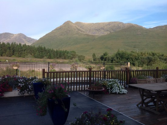 Leenane, Irland: View from the Dining Room