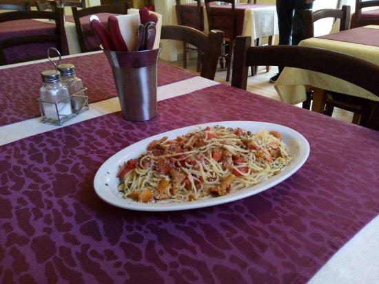 Ottobeuren, Deutschland: Spaghetti Pfifferlinge