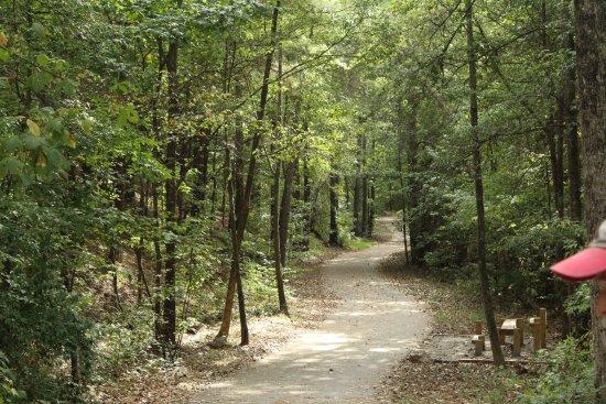 Kings Mountain, North Carolina: Rail Trail .