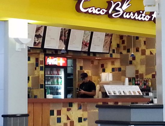 Norridge, IL: Counter for Taco Burrito King in the Food Court at Harlem Irving Plaza