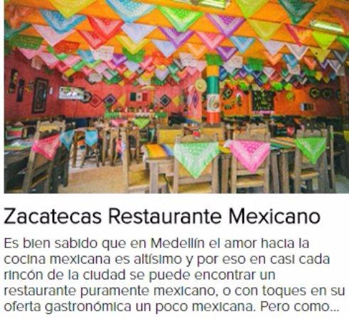 Antioquia Department, โคลอมเบีย: Es bien sabido que en Medellín el amor hacia la cocina mexicana es altísimo y por eso nosotros b