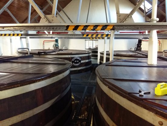 Dufftown, UK: Production on a massive scale