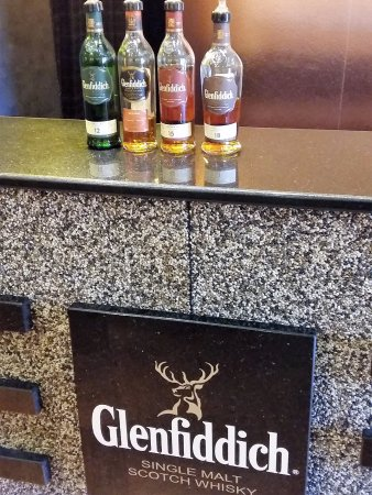 Dufftown, UK: Our samples after the tour