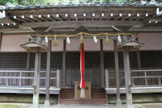 Kawanishi, Giappone: 拝殿正面です