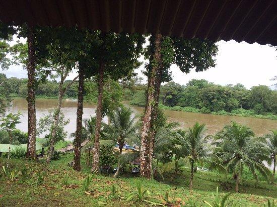 Boca Sabalos, นิการากัว: Vista desde la palapa