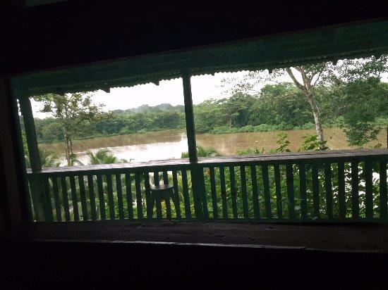 Boca Sabalos, นิการากัว: Vista desde la habitación