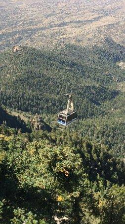 Sandia Peak Tramway: Looking down from Sandia Peak.
