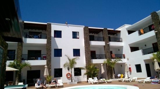 Club Atlantico: room top left from pool