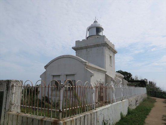 Saigo Cape Lighthouse: The lighthouse