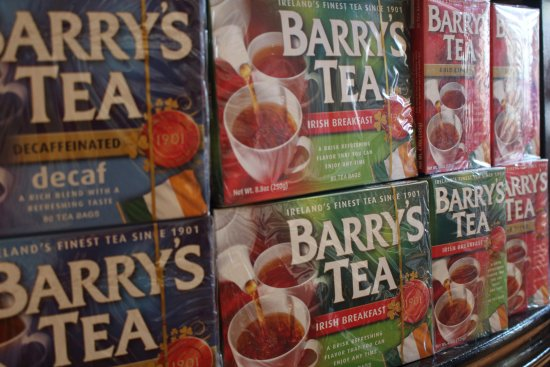Irish Tea Room: and the tea should be none other than Barry's Tea