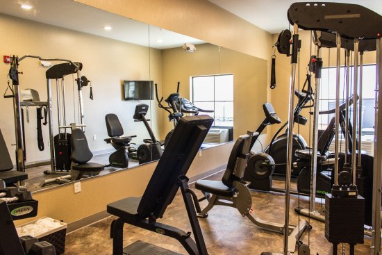 Chippewa Falls, WI: Check out the fitness center open daily 8am - 10pm
