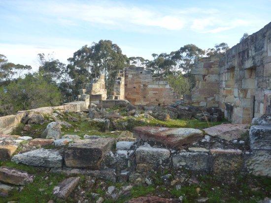 Saltwater River, Austrália: Ruins