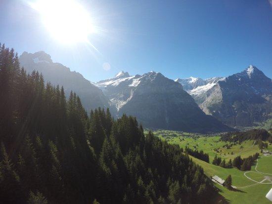 Grindelwald, Switzerland: View from Gondola