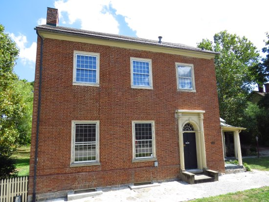 Maysville, KY: Key family home, where Harriet Beecher stayed, and observed a slave auction.