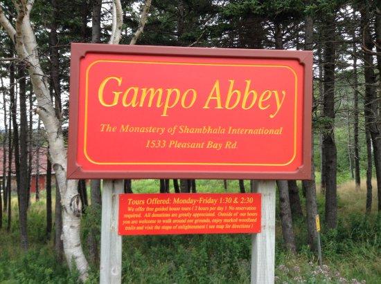 Gampo Abbey Monastery
