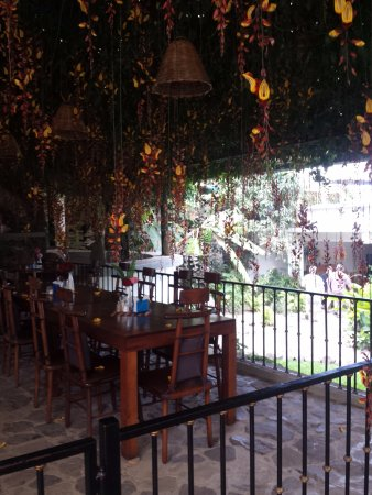 San Marcos La Laguna, Γουατεμάλα: El Dragon Dining Area